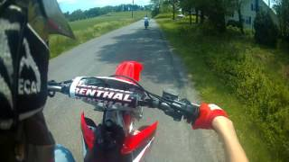 Blake Bartley 572 dirtbike highlights