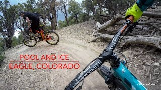 Chasing Dillon Lemarr through Pool and Ice Trail's fast and flowy twists and turns. #followcamfriday