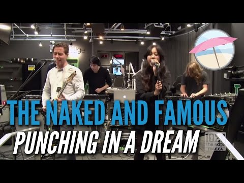 The Naked And Famous - Punching In A Dream (Live at the Edge)