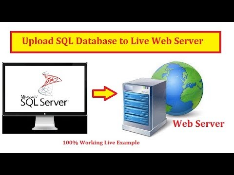 Easily Upload Local SQL Database to Live Web Server (Hosted SQL Server) | Hindi | Free Online Class