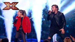 Группа Detach и Юлия Санина. We will rock you - Queen. Х-фактор 7. ФИНАЛ