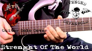 Strength Of The World Guitar Solo Cover - Avenged Sevenfold