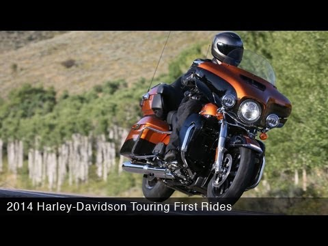 2014 Harley-Davidson Touring First Rides - MotoUSA