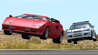 BeamNG Drive Realistic High Speed Crashes #14