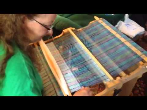 Rigid Heddle Weaving How To Video For Waffle Weave
