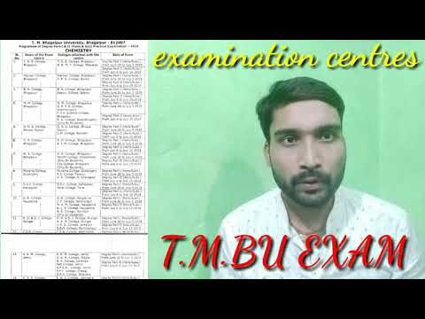 Tilka Manjhi Bhagalpur university/part:-1&part2 practical examination centers declared