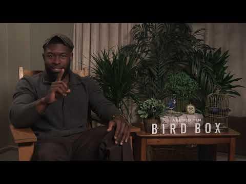 Trevante Rhodes - Bird Box Interview (2018)
