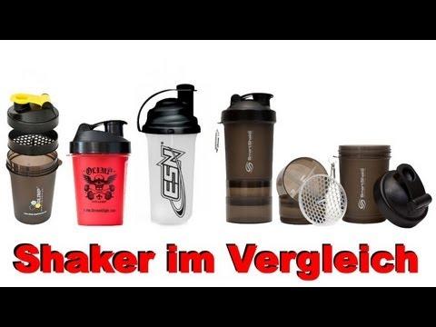 Shaker im Vergleich - Welcher ist der beste? - Meine Erfahrungen