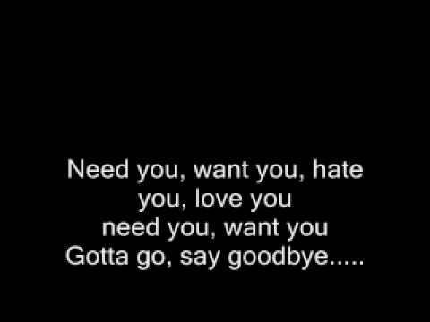 Música Love You, Hate Me