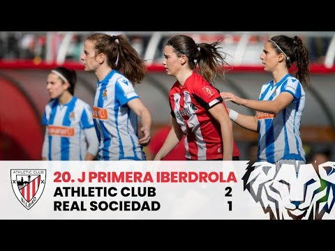 ⚽ Resumen I J20 Primera Iberdrola I Athletic Club 2-1 Real Sociedad I Laburpena
