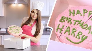 MAGICAL KITCHEN: Harry Potters Birthday Cake   Cherry Wallis