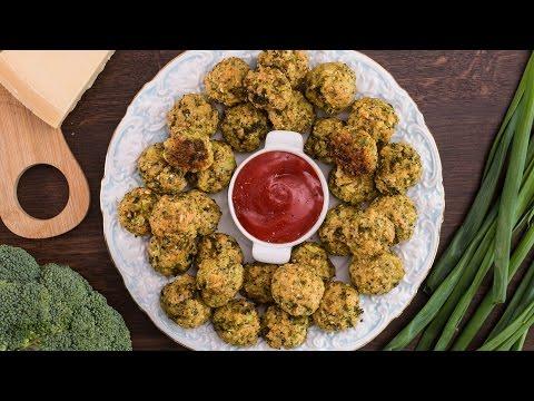 Video Broccoli Cheese Balls Recipe
