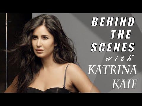 Behind the scenes with Katrina Kaif | Katrina Kaif Photoshoot | Filmfare Cover shoot