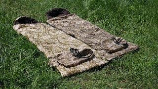 """Спальник - Одеяло, Спальный мешок  """"ТУРИСТ"""" 2 в 1"""