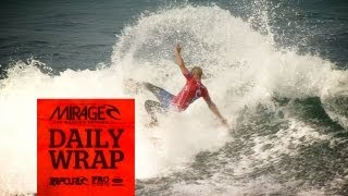 2012 Rip Curl Pro Mens Surfing  Day 1 Wrap Presented By Mirage