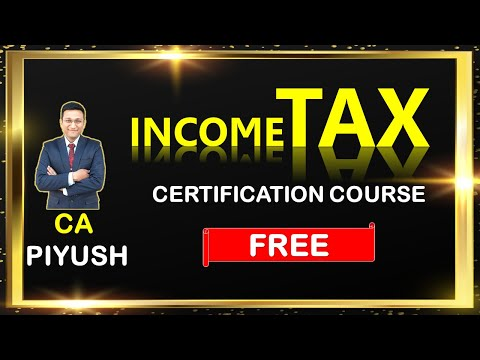 Free Income Tax Certification Course Online | Learn How to Income Tax Return Filing 2019-20 in Hindi