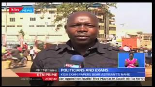 KTN Prime: Kisii Education Officers use an aspirants face on Mock exams, 13/10/2016