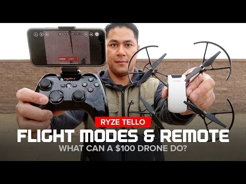 Ryze Tello Drone - Flight Modes and Bluetooth Remote Controller