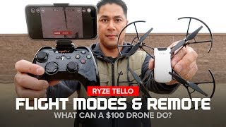Ryze Tello Drone - Flight Modes and Bluetooth Remote Controller