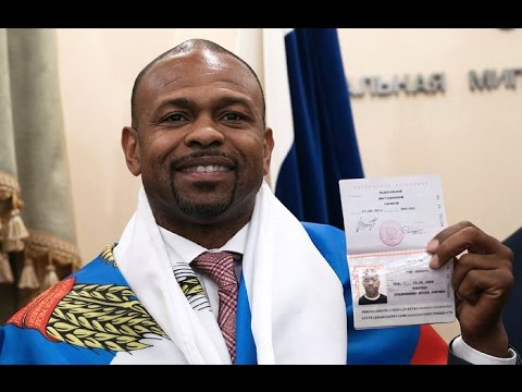Рой Джонс получил Российское гражданство