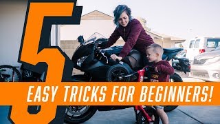 5 Easy Tricks To Ride Like a Pro - Impress Everyone On Your Motorcycle! How To Be a Better Rider!