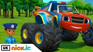 Blaze and the Monster Machines | Officer Blaze | Nick Jr. UK