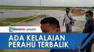 Polisi Duga Ada Unsur Kelalaian dalam Insiden Terbaliknya Perahu Ziarah di Ogan Ilir, 4 Orang Tewas