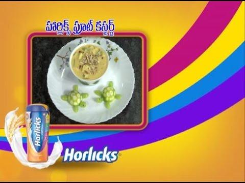 Abhiruchi--Horlicks-Fruit-Custard--హార్లిక్స్-ఫ్రూట్-కస్టర్డ్
