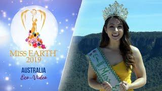 Susana Danielle Downes Miss Earth Australia 2019 Eco Video