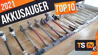 AKKU STAUBSAUGER TEST 2021 | TOP 10 Akkusauger ► 45 Geräte im Test!