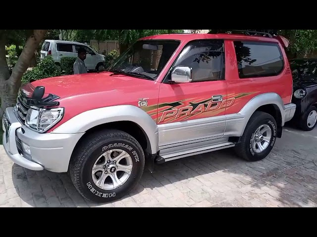 Toyota Prado RX 2.7 (3-Door) 1996 for Sale in Multan