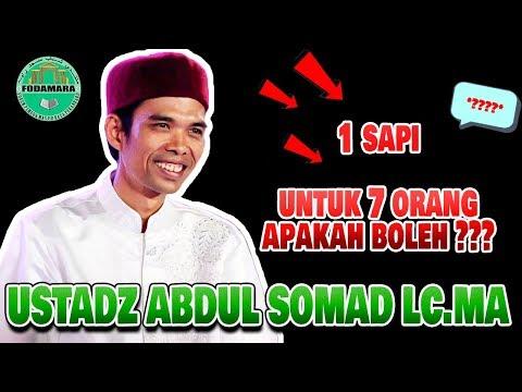 Batasan 1 Sapi Untuk Berapa Orang Ustadz Abdul Somad Lc.MA