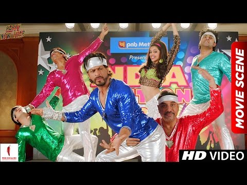 Auditions for World Dance Championship   Happy New Year Scenes   Shah Rukh Khan
