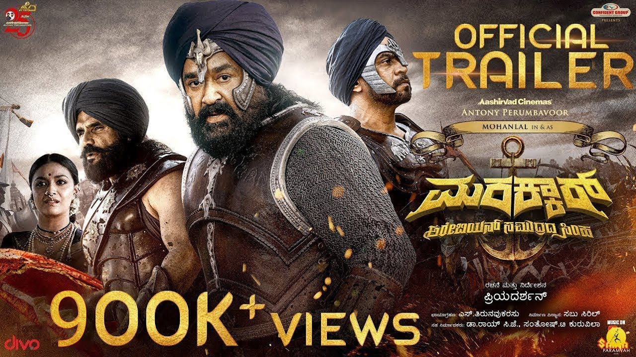 Marakkar (2020) Movie | Marakkar Kannada Full Movie