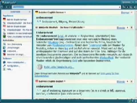 Babylon 7 - Die weltweit führende Wörterbuch- und Übersetzungssoftware