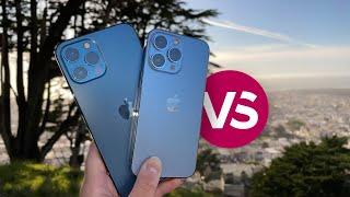 Apple iPhone 13 Pro vs Apple iPhone 12 Pro Max camera comparison