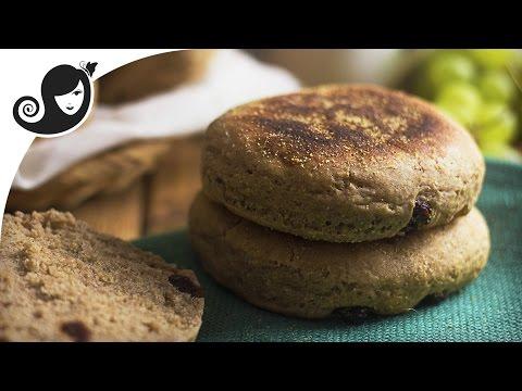 English Muffin Recipe with Cinnamon and Raisin – Vegan Breakfast | Vegan/Vegetarian Recipe