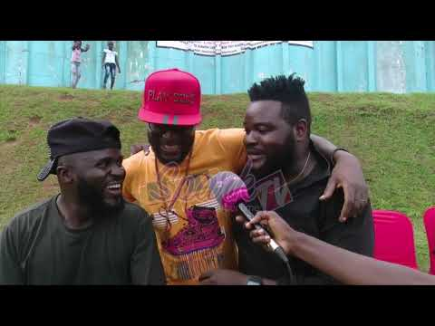 Madrat and Chicko advise artists to control their excitment while abroad