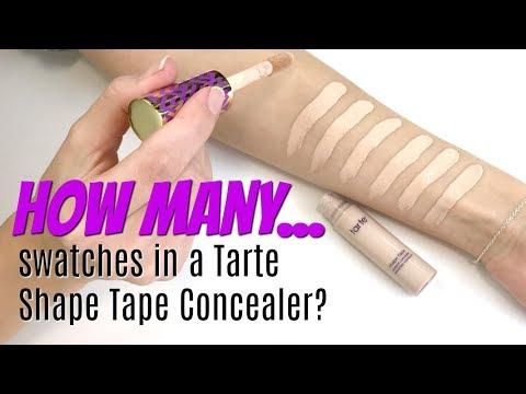 Shape Tape Concealer by Tarte #6