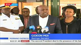 Gideon Moi Eulogizes his father as a man of integrity who fought for the benefit of his countrymen