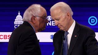 Next Democratic debate to be a Biden-Sanders face-off