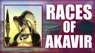 Skyrim - The Races of Akavir - Elder Scrolls Lore