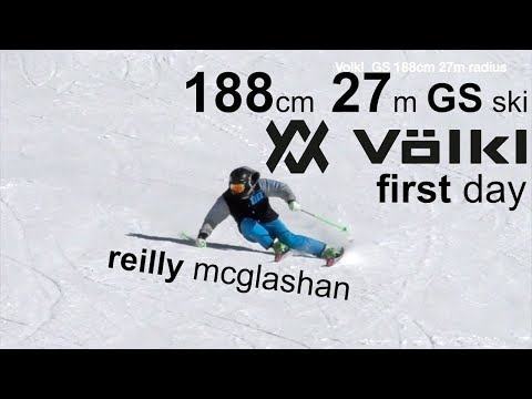 free SKI CARVING GS ski 27m first day - Reilly McGlashan