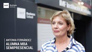 Opinión alumna MBA Semipresencial: Antonia Fernández