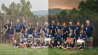 Tips And Tricks For BIG Family Portraits + Photoshop CC Tutorial