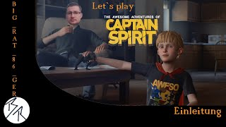 The Awesome Adventures of Captain Spirit [PS4] Einleitung (Let`s play Deutsch)