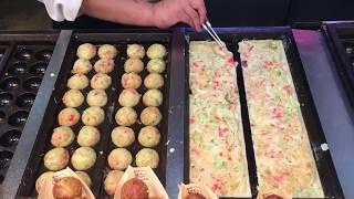 making takoyaki | unedited whole process タコヤキ