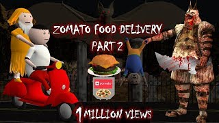 Zomato Food Delivery || Horror Stories Part 2 (ANIMATED IN HINDI) Make Joke Horror
