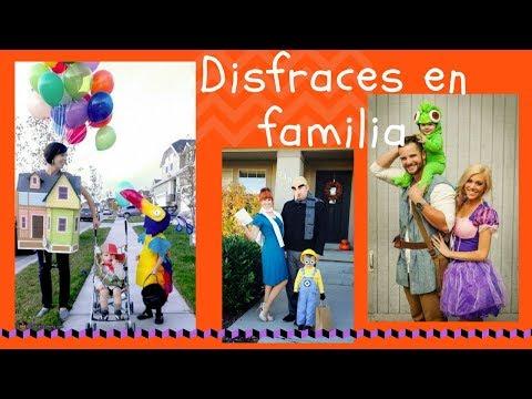 Disfraces en familia】Ideas