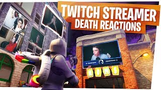 KILLING FORTNITE TWITCH STREAMERS with REACTIONS! - Fortnite Funny Rage Moments ep2